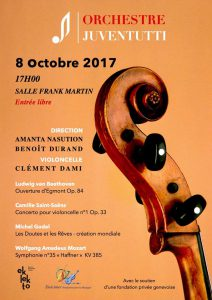 concert orch Juventutti 8.10.2017
